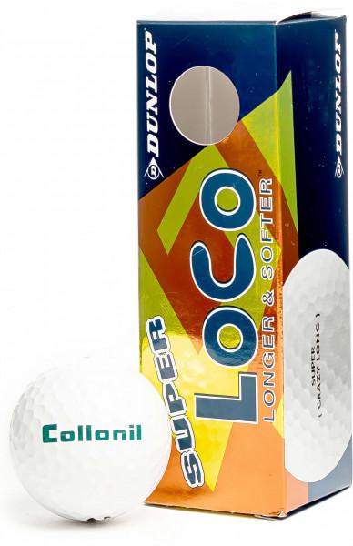 3 Collonil golf balls