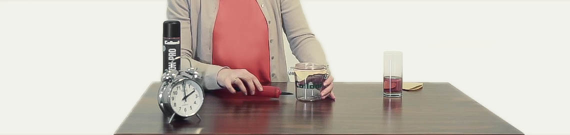 putzflash folge 3 das filtert ten experiment produkte tests magazin collonil. Black Bedroom Furniture Sets. Home Design Ideas
