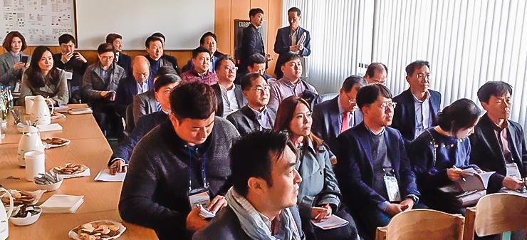 Koreanische Gäste bei Collonil