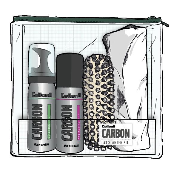 carbon 1 starter kit collonil. Black Bedroom Furniture Sets. Home Design Ideas
