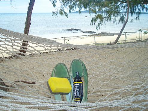 Tiefenreinigung auf den Fijis